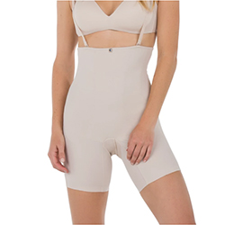 Angelica Natural Birth Recovery Garment Front View-Nude 250x250