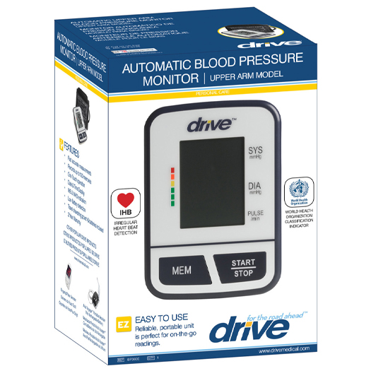 Drive blood pressure monitor packaging 525x525