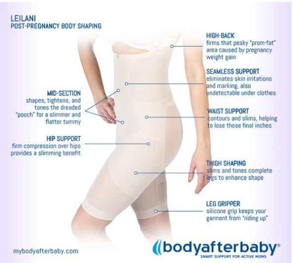 Leilani Postpartum Body Shaper Features