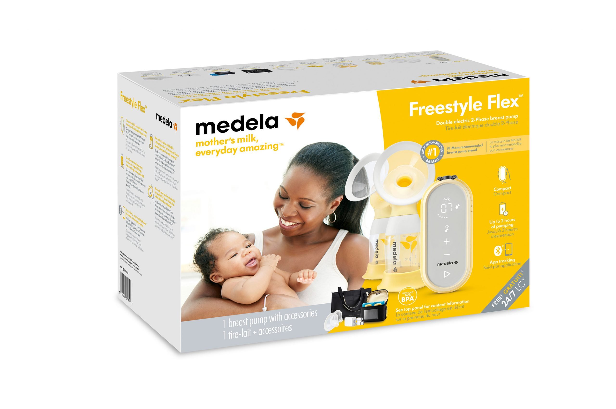 Medela Freestyle Flex Double Electric Breast Pump Pumps For Mom